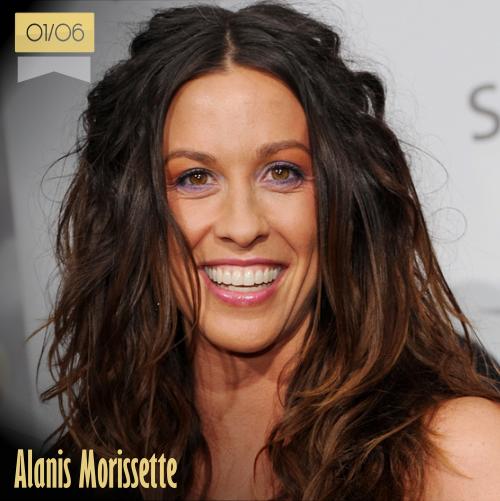 1 de junio | Alanis Morissette - @Alanis | Info + vídeos