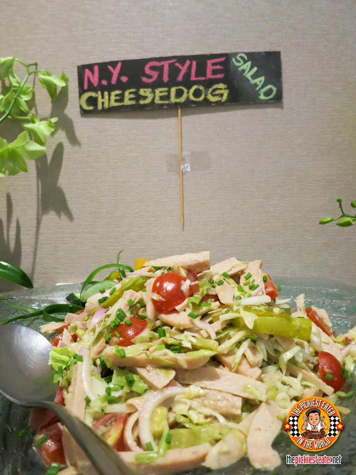 new york style cheesedog salad