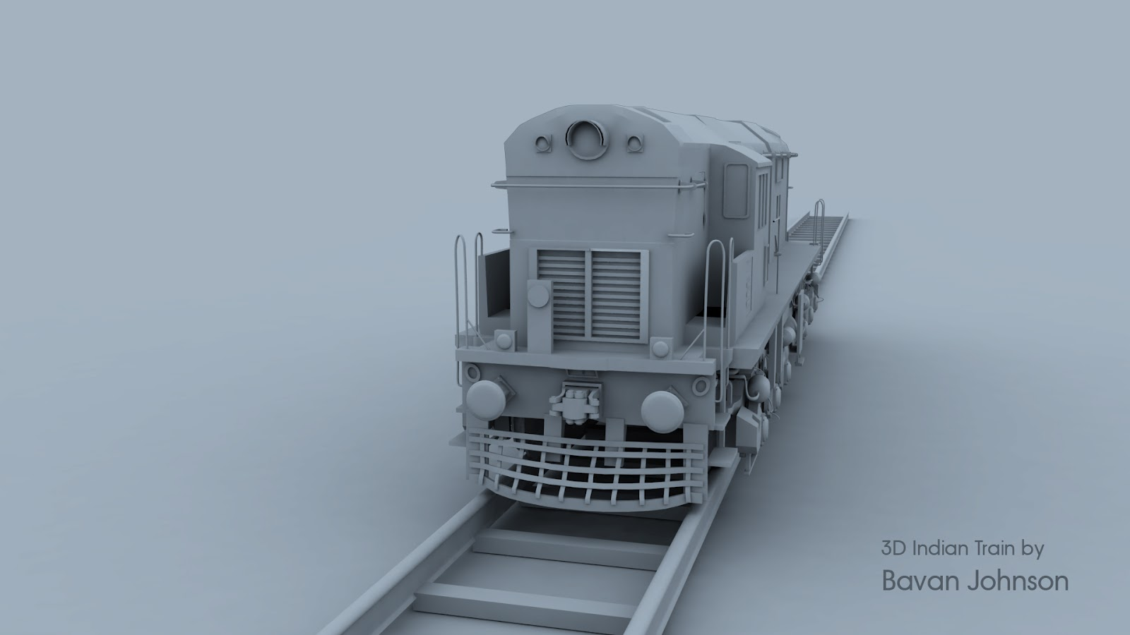 My Madness Skills 3d Indian Train Model In Maya