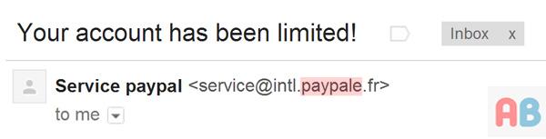 Fake PayPal