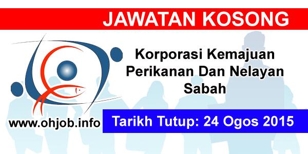 Jawatan Kerja Kosong Korporasi Kemajuan Perikanan Dan Nelayan Sabah logo www.ohjob.info ogos 2015