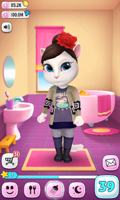 My Talking Angela 1.7.1 Mod Apk + Data-screenshot2