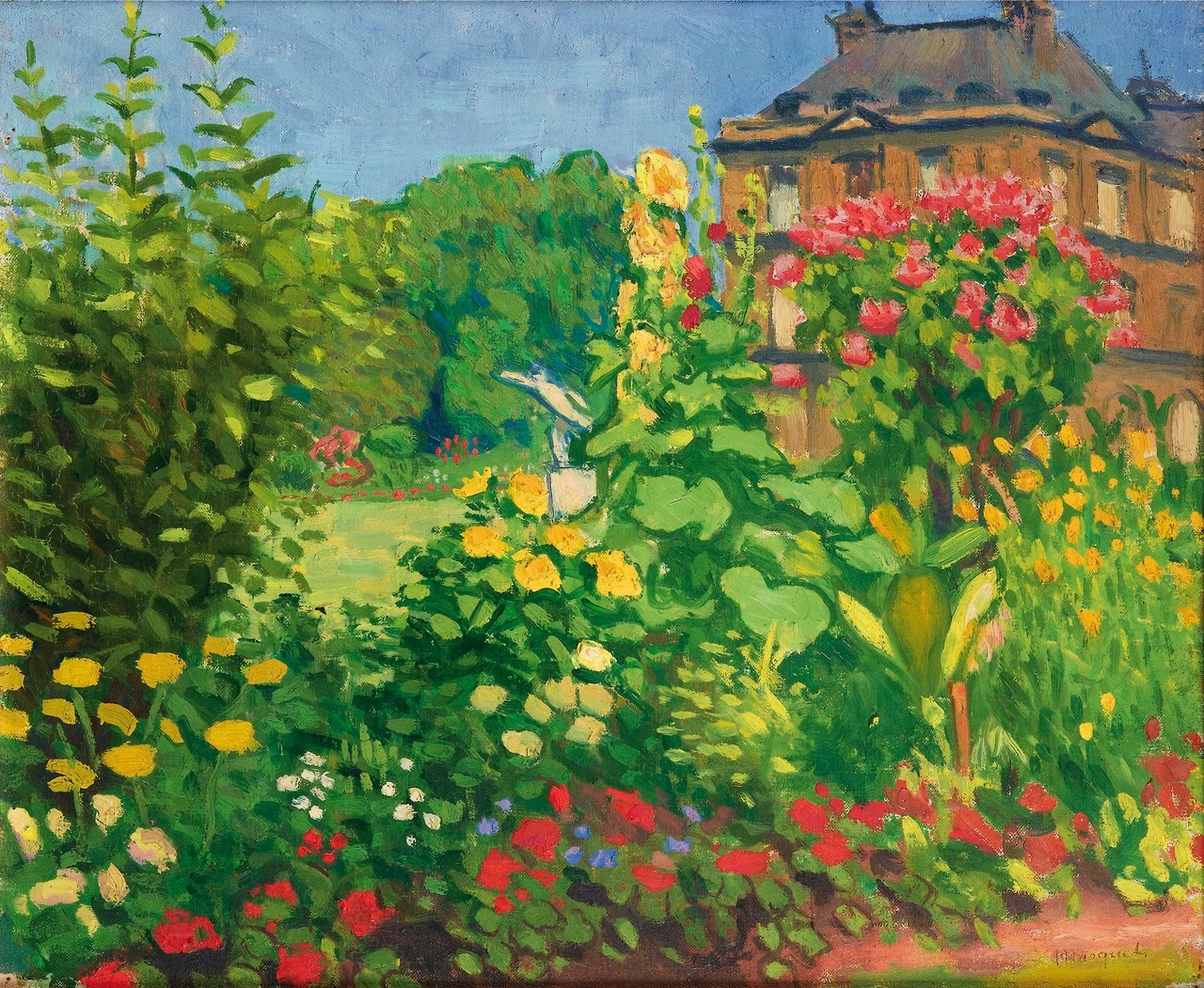 Arte french fauvism albert marquet part ii for Le jardin