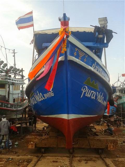 Astillero barco de buceo Tailandia