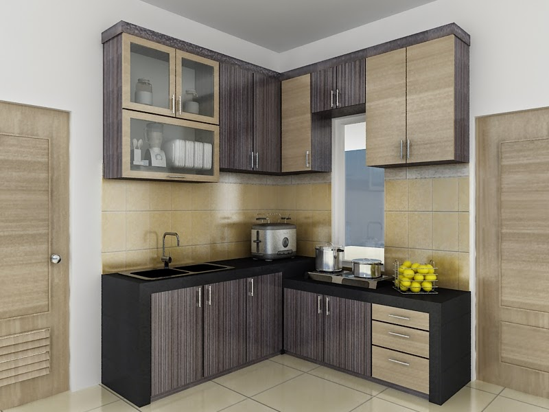 Desain Kitchen Set Minimalis Sederhana Raja Disain Interior