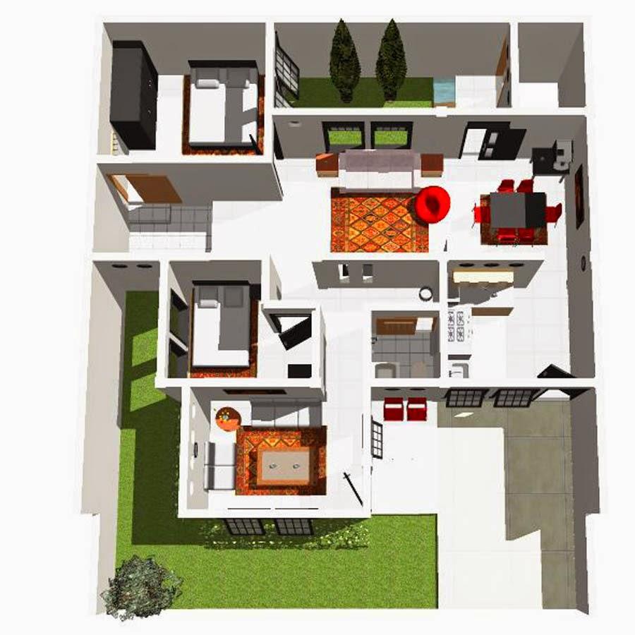 Denah Rumah Sederhana 2014