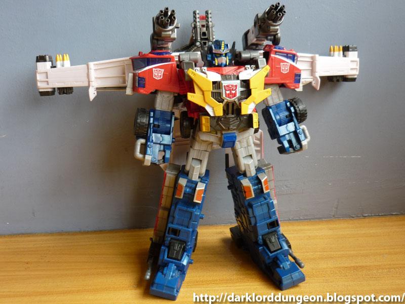 Transformers cybertron leobreaker and optimus prime