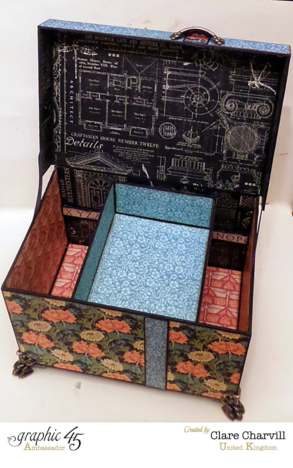 This N' That Box  2 designed and altered by Clare Charvill Artisan Style Graphic 45