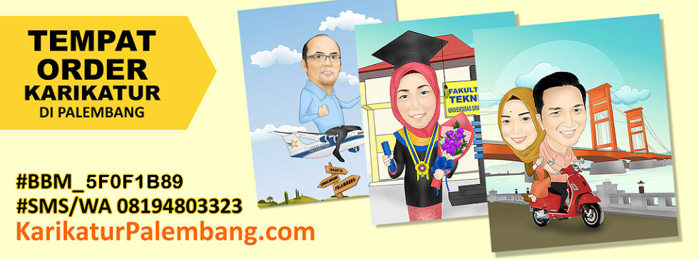 Karikatur Palembang