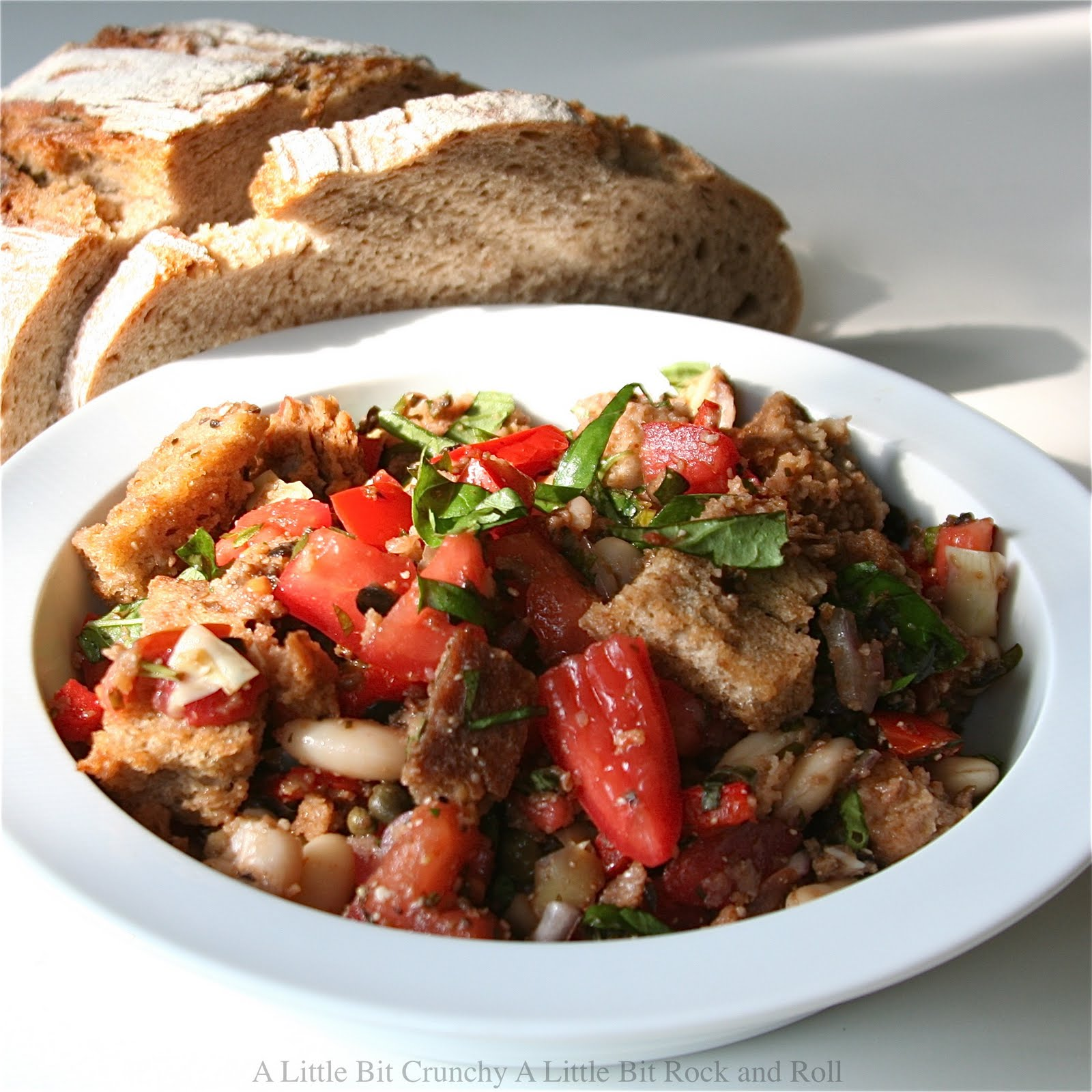 ... Crunchy A Little Bit Rock and Roll: Panzanella (Italian Bread Salad