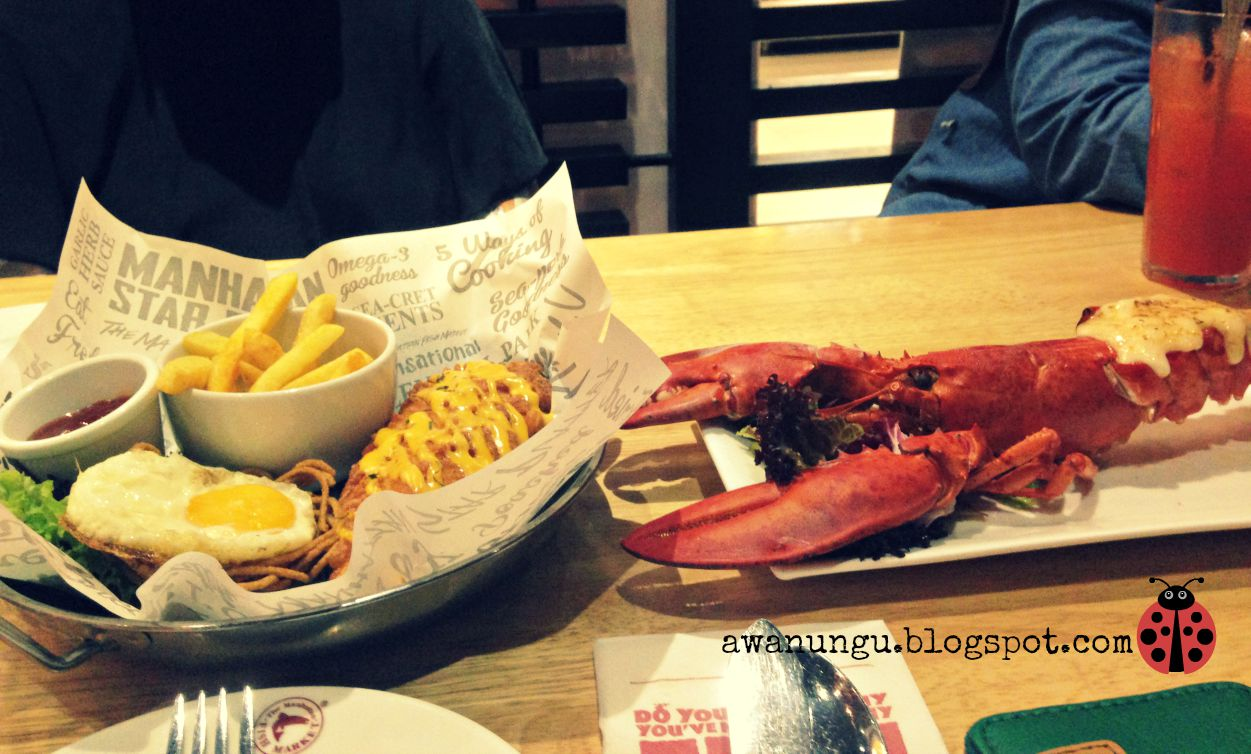 Makan makan manhattan fish market for Manhattan fish and chicken menu