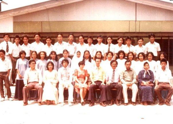 Foto masa Form 5 di SMSJ