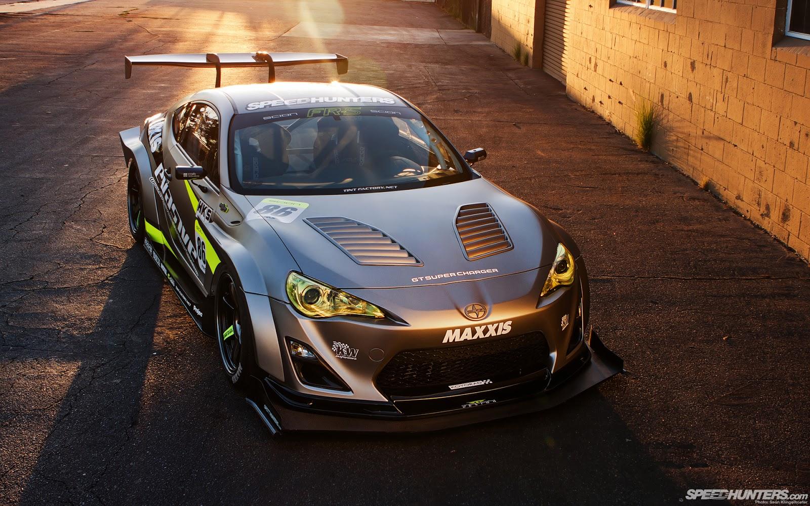 Scion FR-S, silnik boxer, nowe auta z napędem na tył, japońskie sportowe samochody, po tuningu, spojler, modyfikacje, galeria, zdjęcia