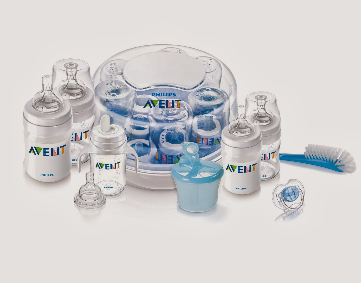 Philips AVENT BPA Free Classic Polypropylene Essentials Gift Set