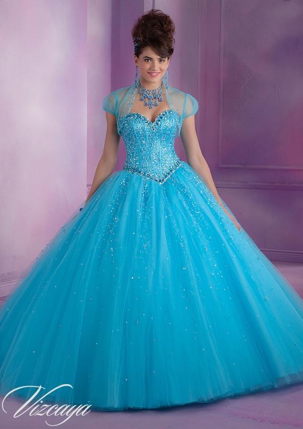 Sweet 15 Dresses Aqua photos