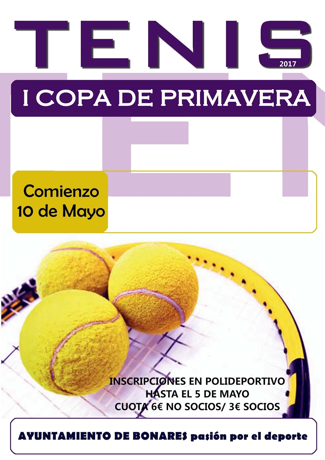 I COPA PRIMAVERA DE TENIS