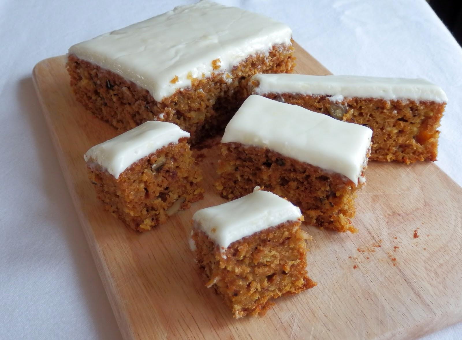 Pret a manger recipe carrot cake