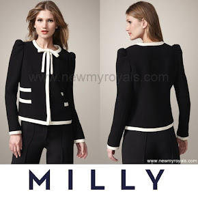 Crown Princess Victoria Style MILLY Marzia Jacket
