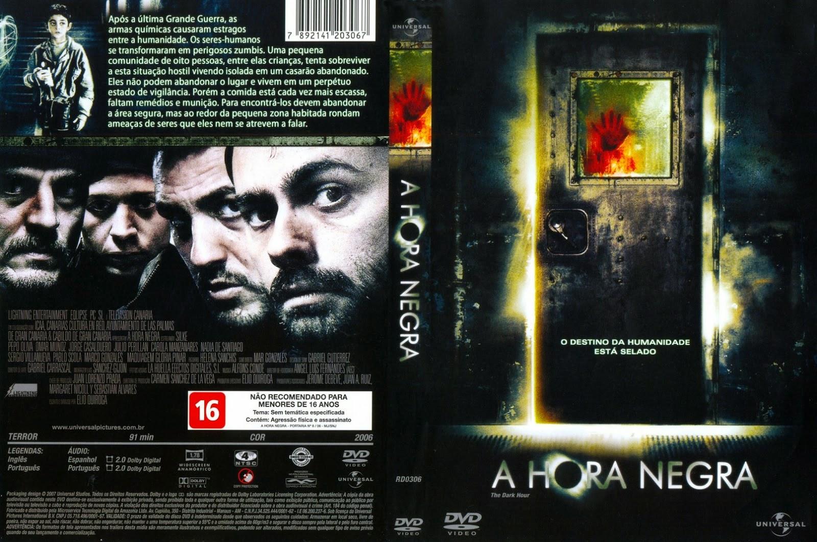 Filme A Hora Negra DVD Capa