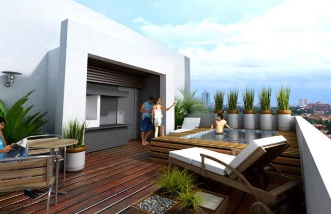 Bricolage e decora o 7 ideias para decorar o seu terra o - Plantas exterior terraza ...