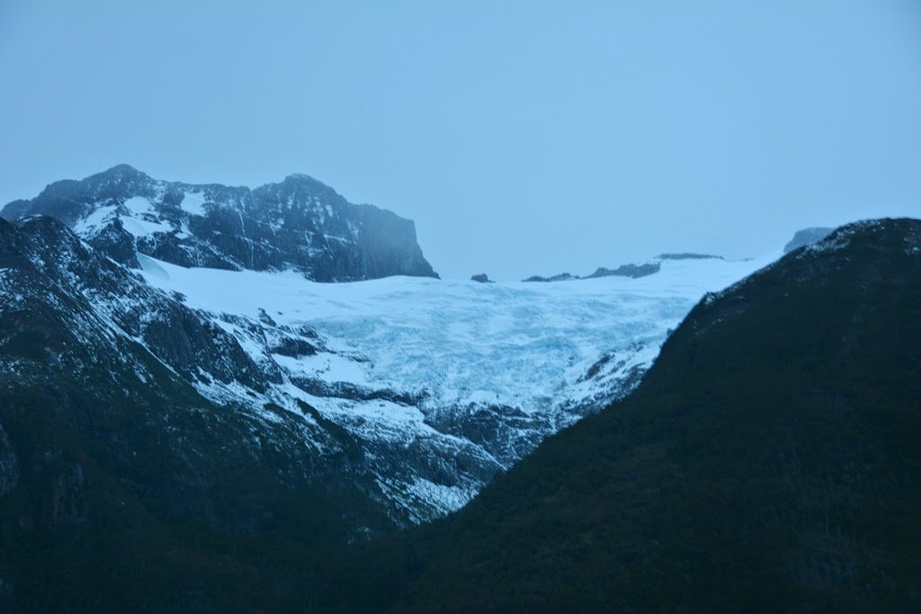Chilean Fjords glacier
