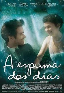 """Poster do filme """"A Espuma dos Dias"""""""