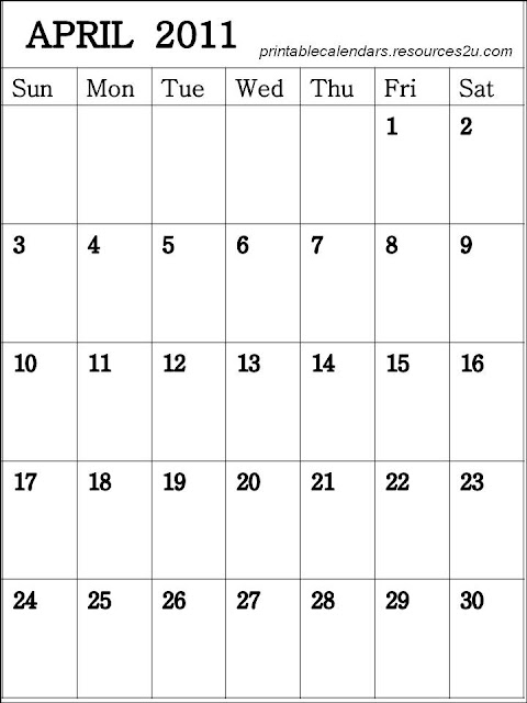 For more Free resources on 2011 Calendars: http://printablecalendars ...