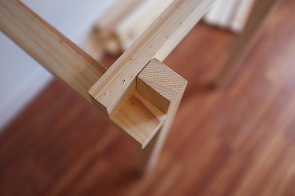 sin pecado concebida: DIY: Bancos de pino