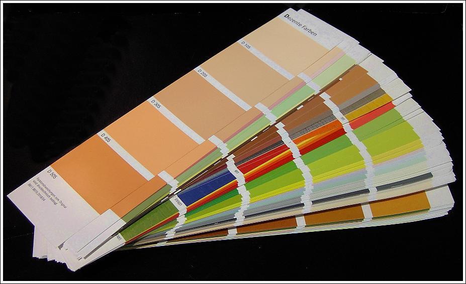 Stempeltruhe 39 s blog farbkarten experiment clean and simple - Farbkarten kostenlos ...