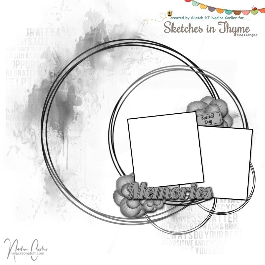 Sketch #449 by Nadine Carlier