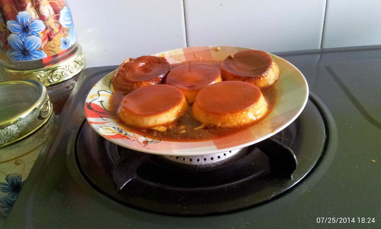 puding karamel sheayang