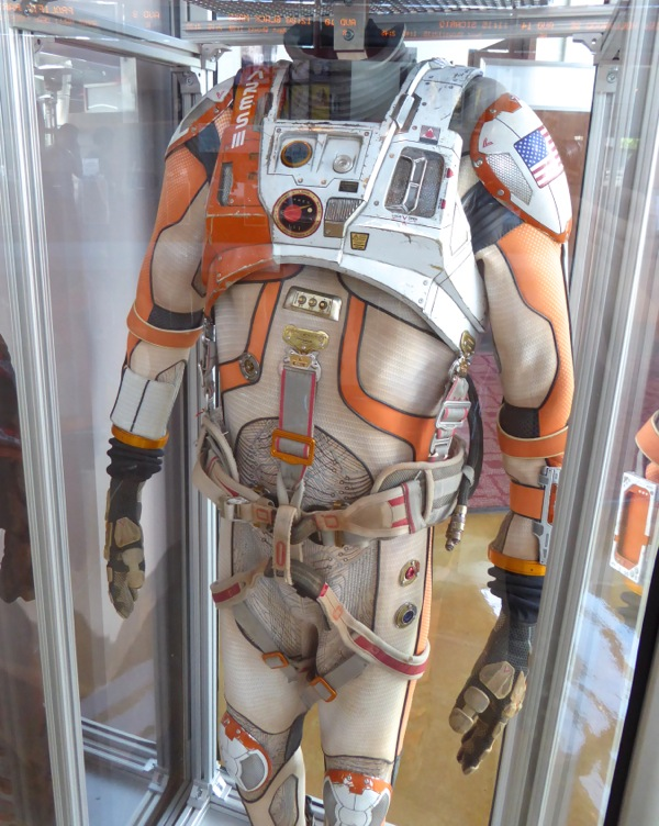 The Martian astronaut movie costume detail