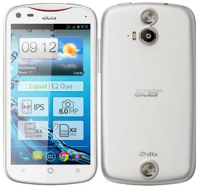 Harga dan Spesifikasi Acer Liquid E2