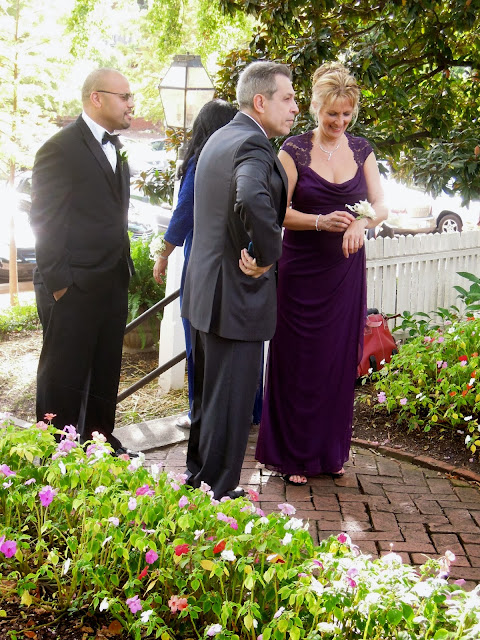 raleigh wedding blog festive orange wedding for liz and