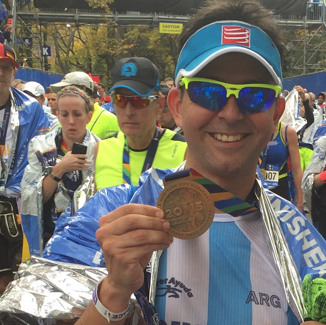 Charlie Andrada Maratón Nueva York
