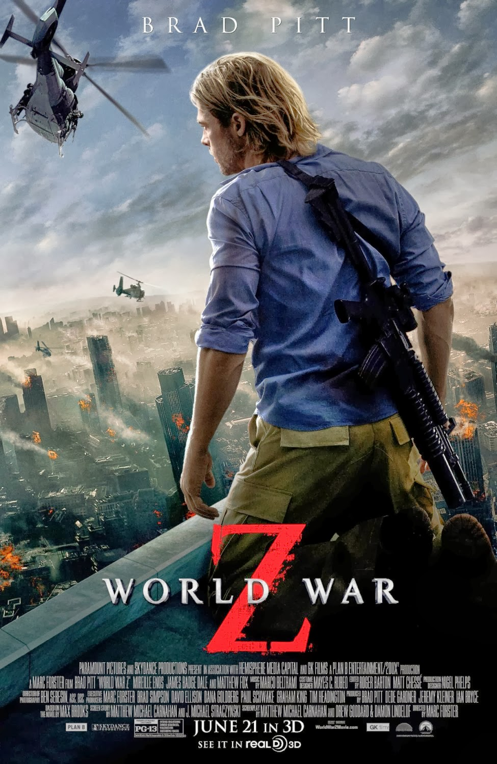 Zachary S Marsh 39 S Movie Reviews Rewind Review World War Z