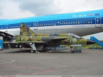 Sjt fighter Saab 37 Viggen