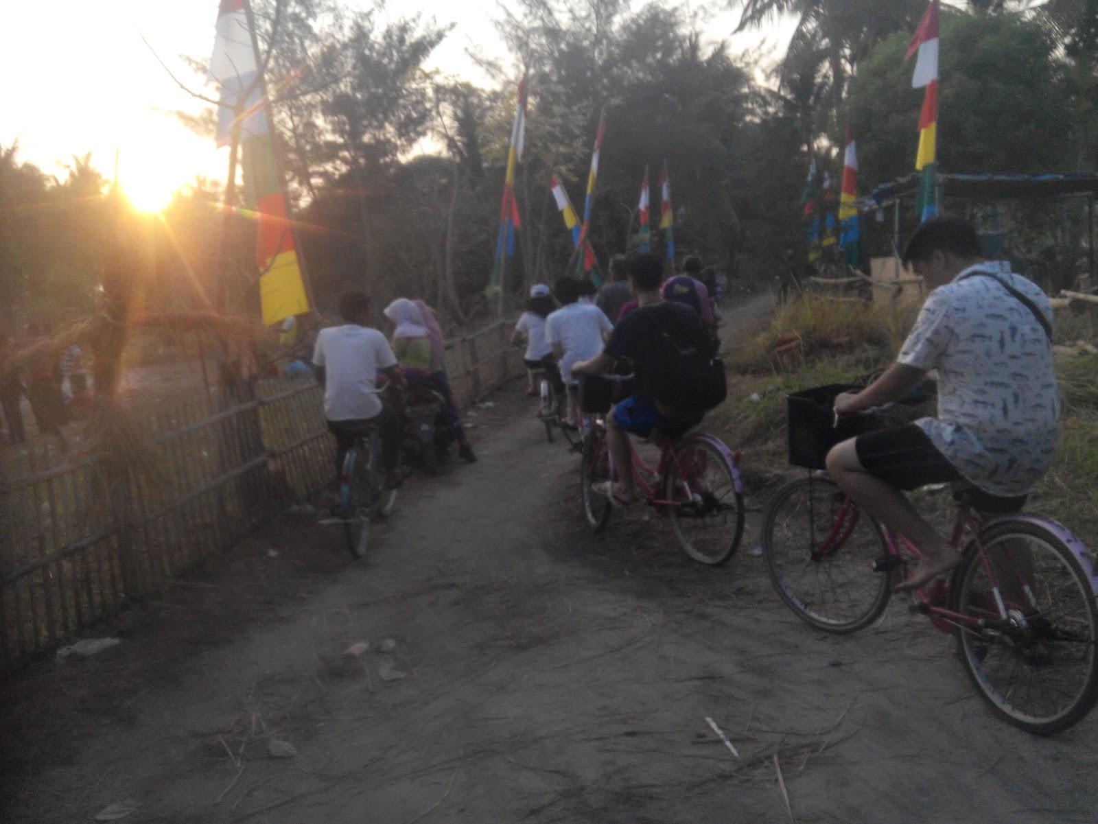 Sunset di Tanjung Barat Pulau Tidung