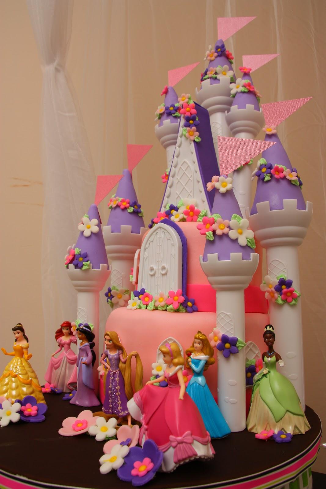 Twist N Swirl Birthday Romantic Castle Cake