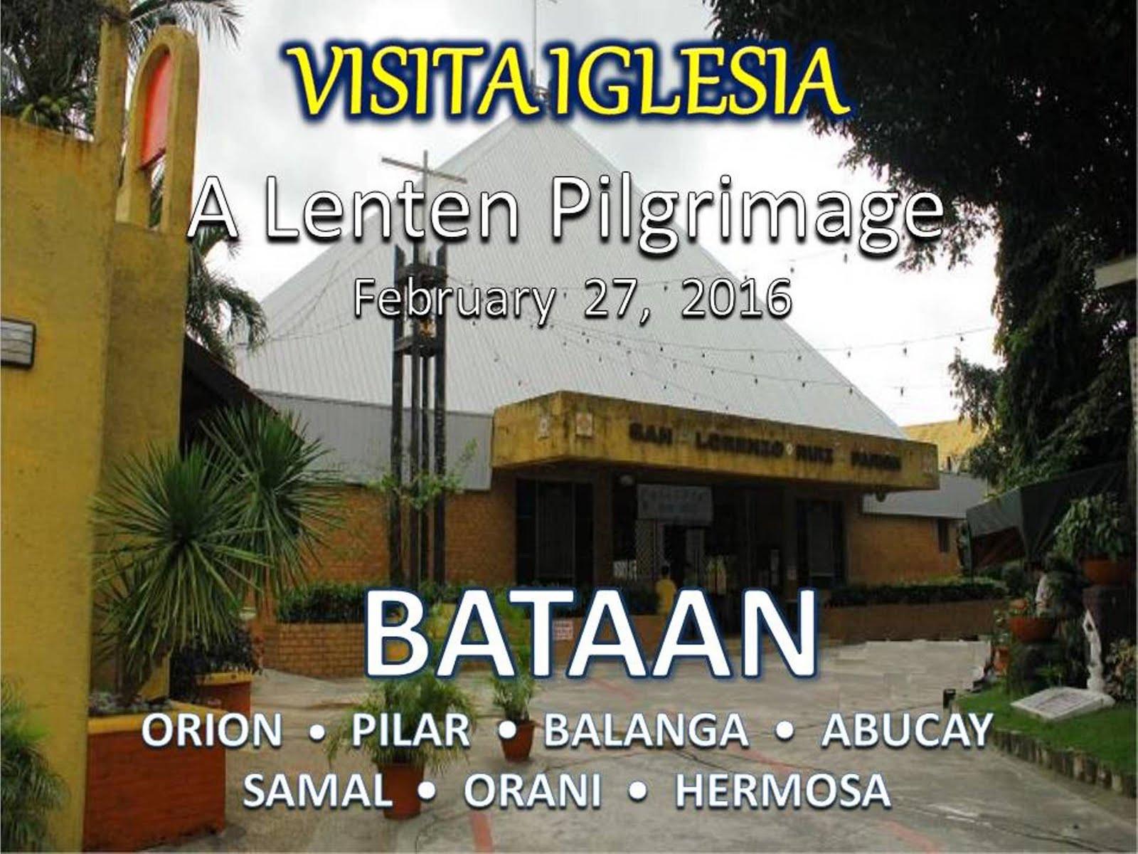 Come Join Us for our annual lenten parish pilgrimage