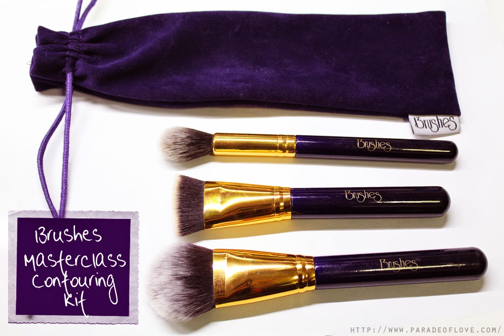 13rushes Masterclass Contouring Kit