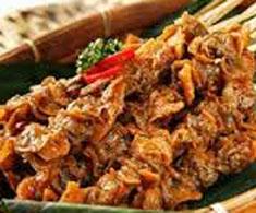 Resep masakan indonesia seafood sate kerang spesial praktis mudah sedap, nikmat