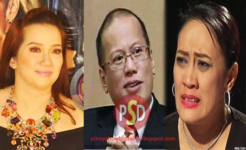 Aiai - Kris friendship doomed. Aiai endorses binay for 2016