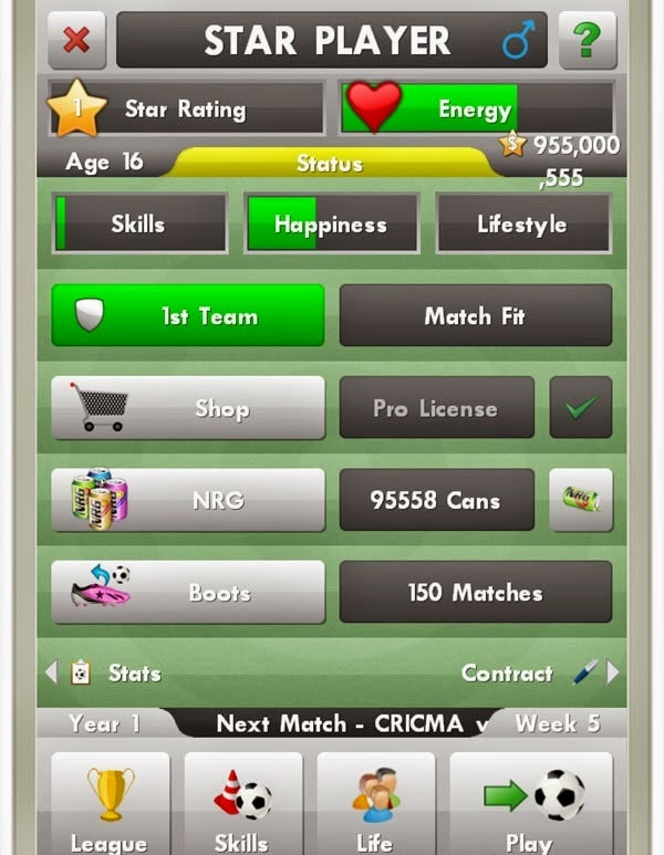 New Star Soccer Hack
