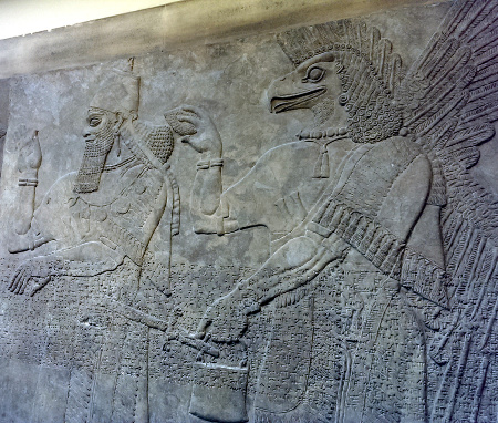London notes: Assyrian panels at the British Museum