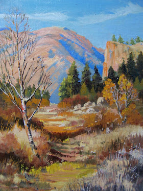 Deer Trail oil 9x12