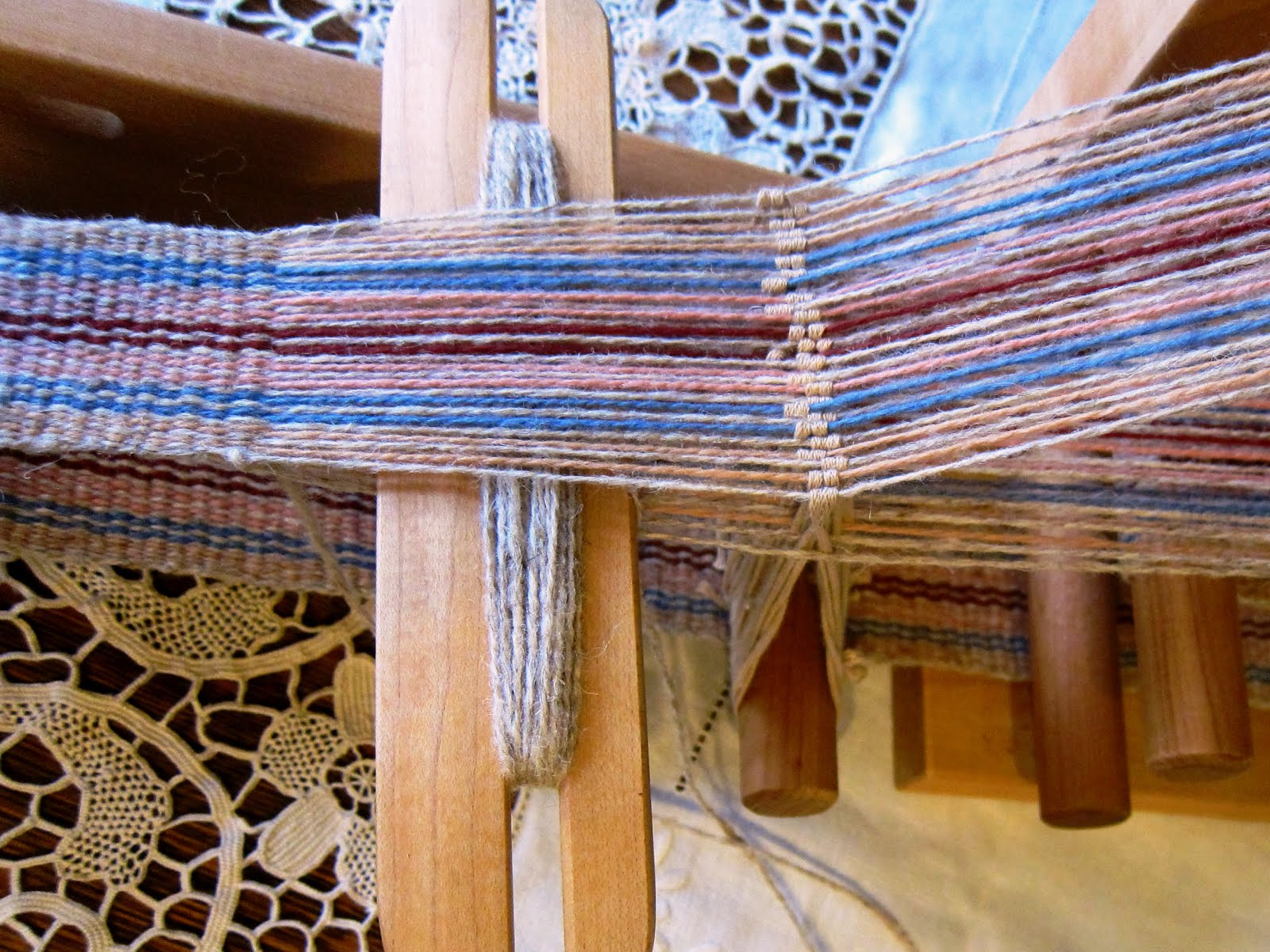 Weaving an Inkle Band