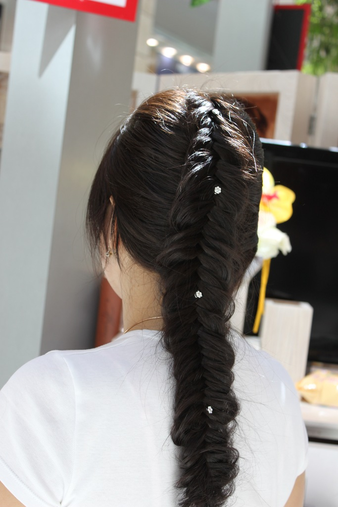 Hair Style In : Braid Hairstyles 2012-13 for Asians Party Hair Fashion