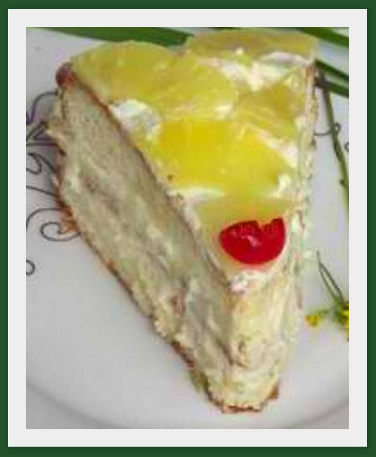 Pineapple Layer Cake ~ Best Cake Recipes