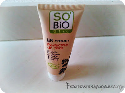 BB cream SO'BiO étic